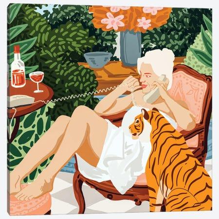 Gossip Canvas Print #UMA533} by 83 Oranges Art Print