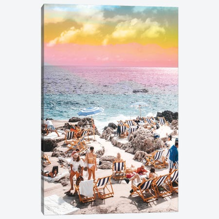 Beach Day Canvas Print #UMA547} by 83 Oranges Art Print