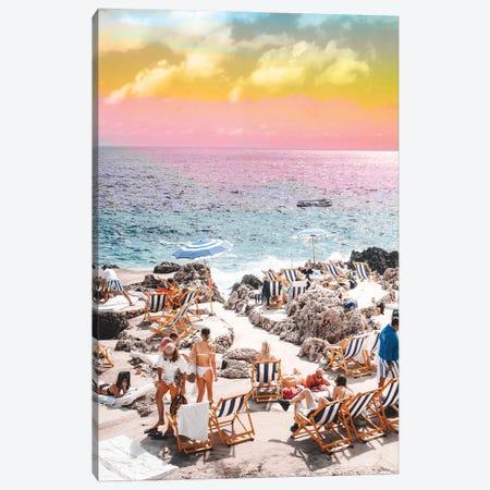 Beach Day Canvas Print #UMA547} by 83 Oranges Art Print
