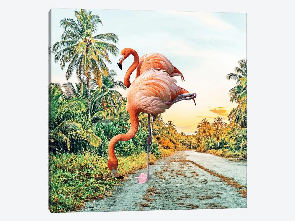 Flamingo Vacay by 83 Oranges 1-piece Art Print
