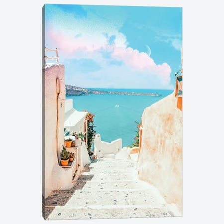 Surreal Greece Canvas Print #UMA558} by 83 Oranges Canvas Print