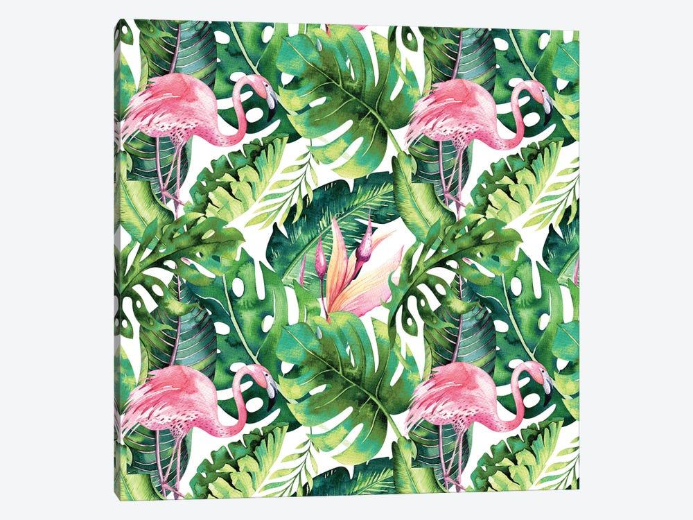 Flamingo Tropical II by 83 Oranges 1-piece Canvas Art