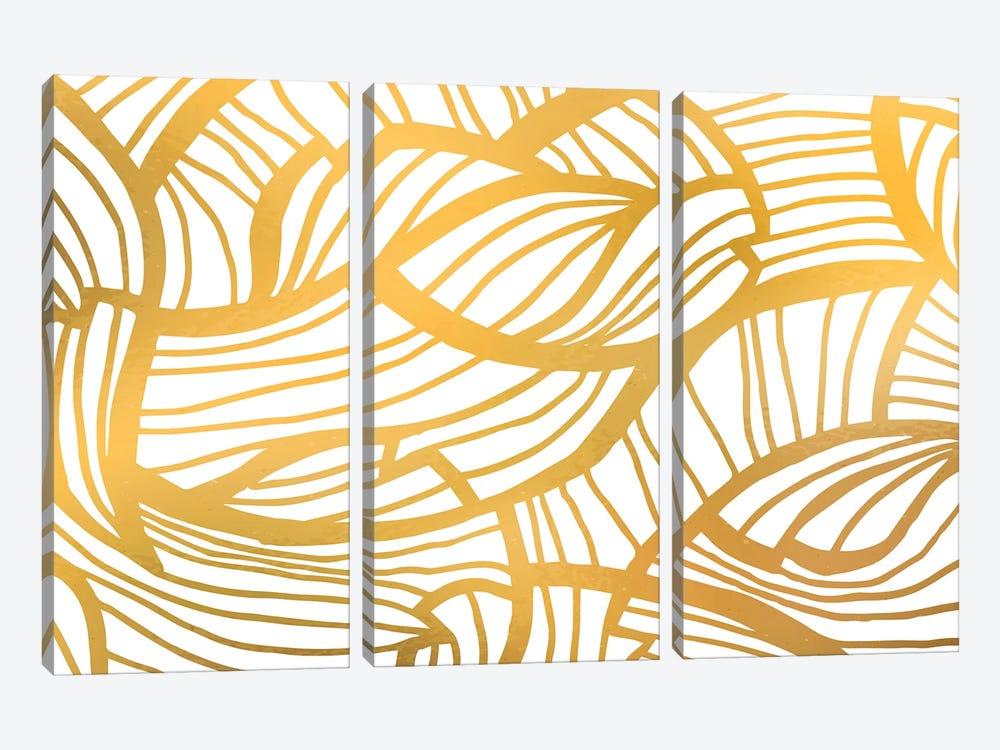 Golden Summer by 83 Oranges 3-piece Canvas Art