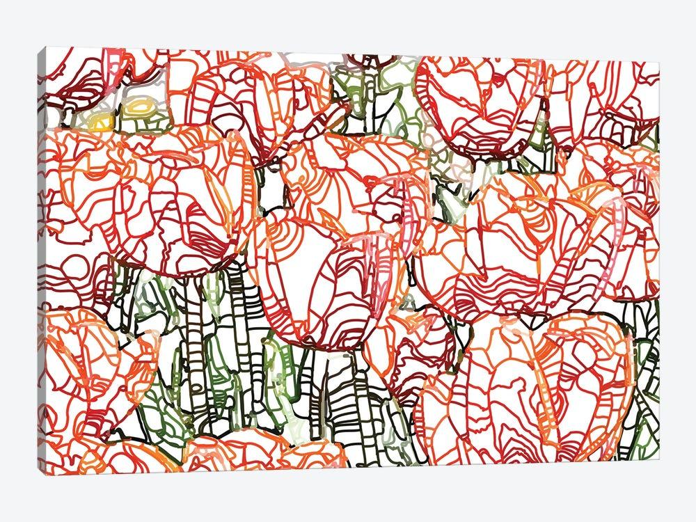 Tulip Garden by 83 Oranges 1-piece Canvas Wall Art