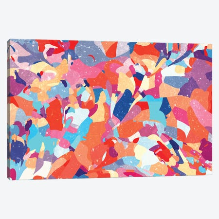 Mosaic Floor Canvas Print #UMA578} by 83 Oranges Canvas Art Print
