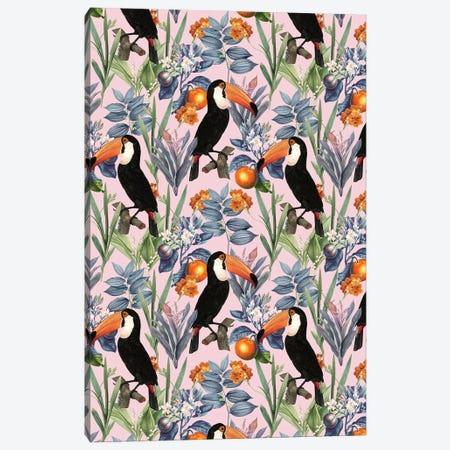 Tucan Garden Canvas Print #UMA585} by 83 Oranges Canvas Art Print