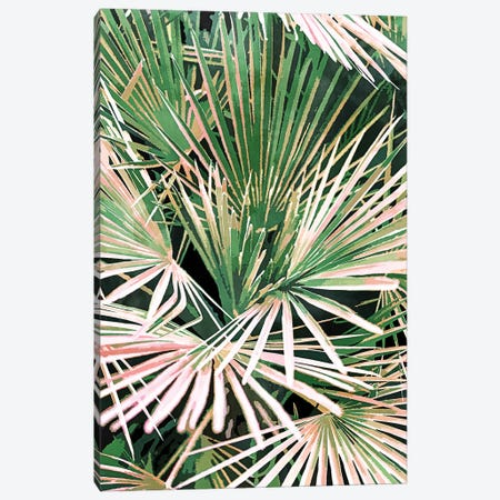 Palms II Canvas Print #UMA588} by 83 Oranges Canvas Wall Art