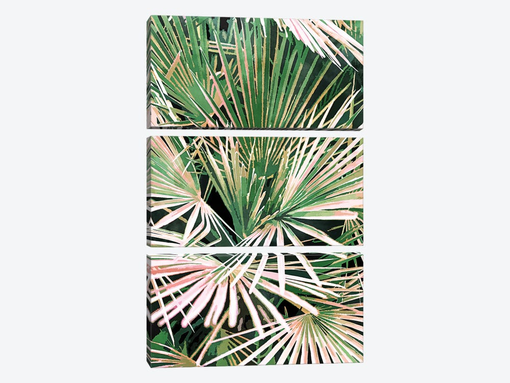 Palms II by 83 Oranges 3-piece Canvas Artwork
