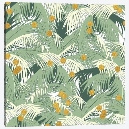 Palm Gold Canvas Print #UMA58} by 83 Oranges Canvas Art