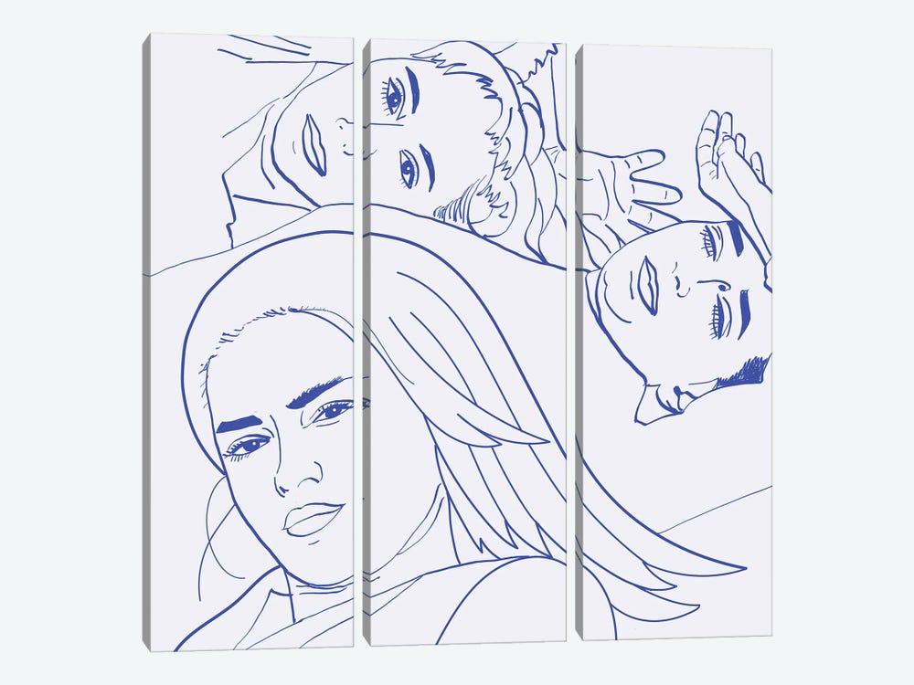 Sisters II by 83 Oranges 3-piece Canvas Artwork