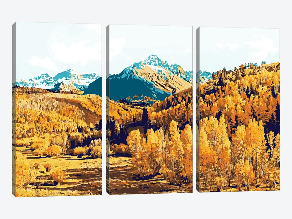 Theo by 83 Oranges 3-piece Canvas Print