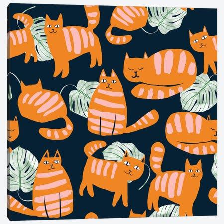 Whimsicat Canvas Print #UMA594} by 83 Oranges Canvas Artwork