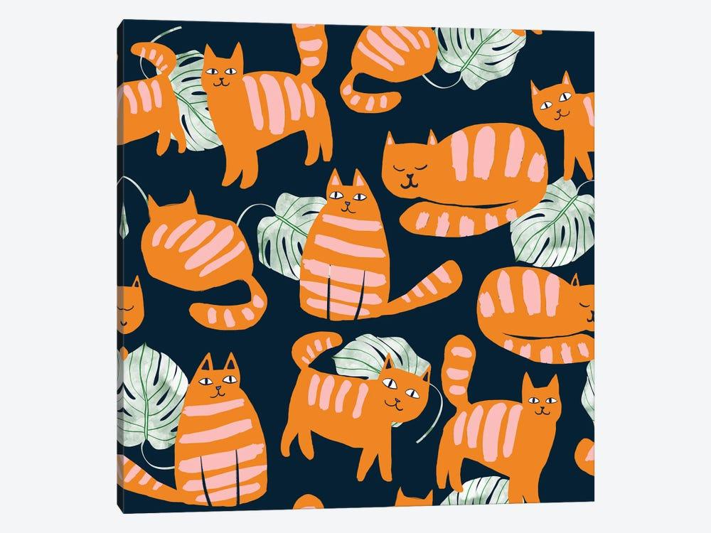 Whimsicat by 83 Oranges 1-piece Art Print