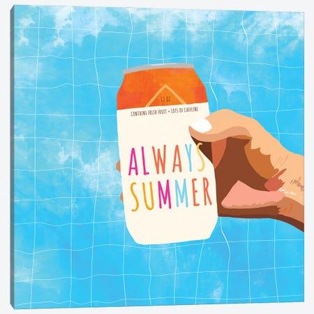 Always Summer Canvas Print #UMA595} by 83 Oranges Canvas Wall Art