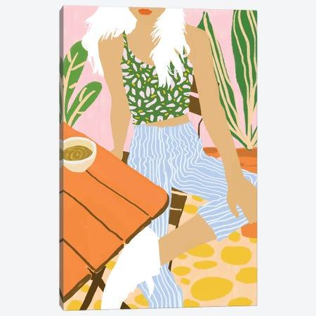 Kawa Tea Canvas Print #UMA600} by 83 Oranges Canvas Art Print