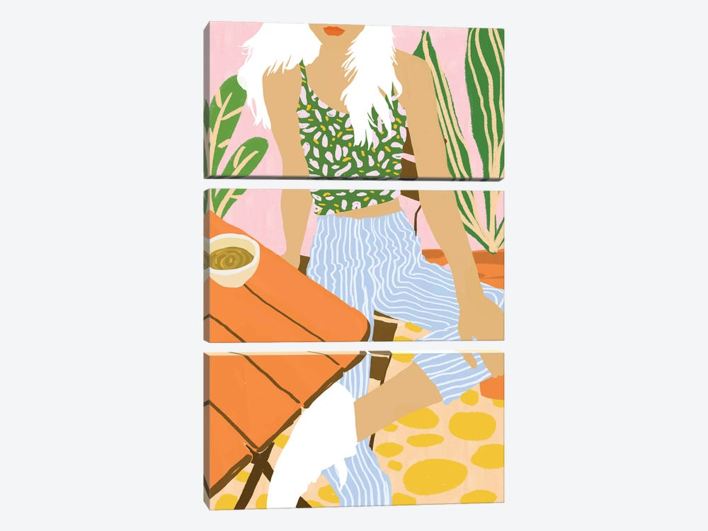Kawa Tea by 83 Oranges 3-piece Canvas Artwork