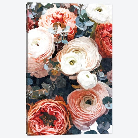 Aastha Canvas Print #UMA607} by 83 Oranges Canvas Wall Art