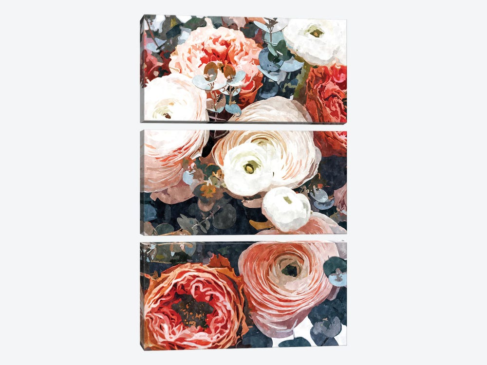 Aastha by 83 Oranges 3-piece Canvas Print