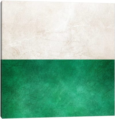 Pearl And Emerald Canvas Art Print