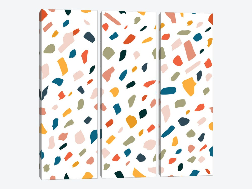 Terrazzo by 83 Oranges 3-piece Canvas Art Print