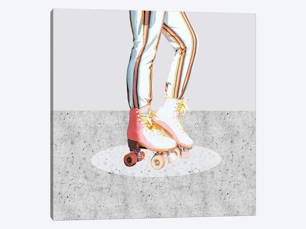 Skating by 83 Oranges 1-piece Art Print