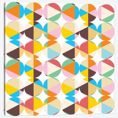 Retro Geometry Canvas Print #UMA62} by 83 Oranges Canvas Print