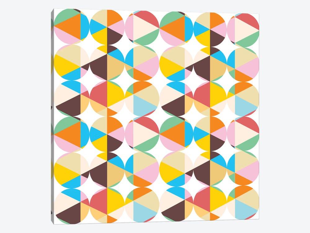 Retro Geometry by 83 Oranges 1-piece Art Print