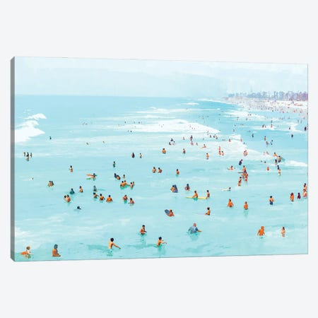 Hot Summer Day Canvas Print #UMA632} by 83 Oranges Canvas Artwork