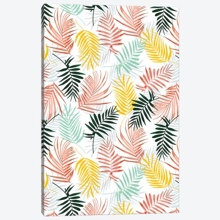 Palm Crush Canvas Print #UMA636} by 83 Oranges Art Print