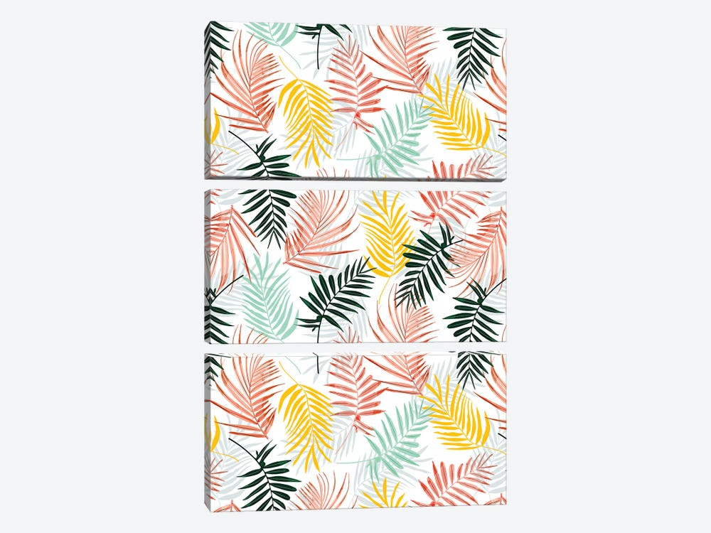 Palm Crush by 83 Oranges 3-piece Art Print