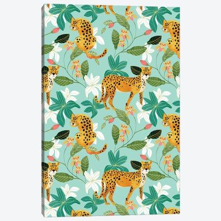Cheetah Jungle Canvas Print #UMA638} by 83 Oranges Canvas Artwork