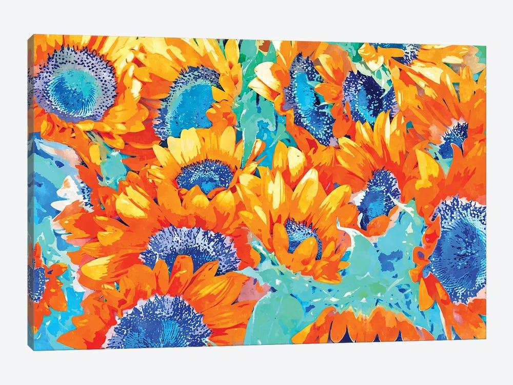 Sunflower Garden by 83 Oranges 1-piece Canvas Wall Art