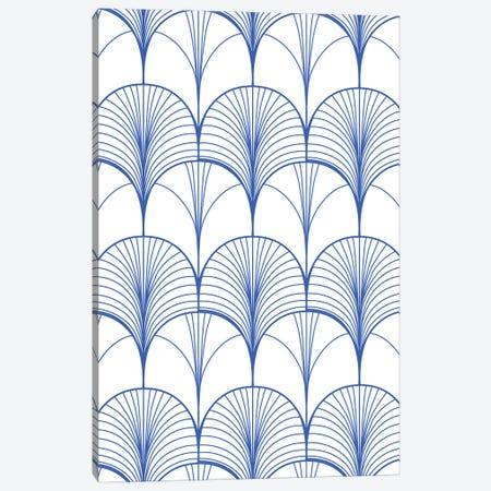 Art Deco Blue Canvas Print #UMA657} by 83 Oranges Canvas Art Print