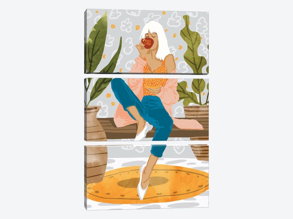 Boss Lady by 83 Oranges 3-piece Canvas Artwork