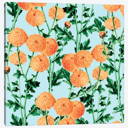 Summer Bloom Canvas Print #UMA67} by 83 Oranges Canvas Art