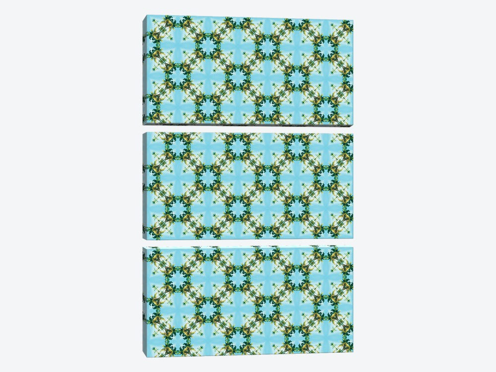 Blue Sky Morocco by 83 Oranges 3-piece Art Print
