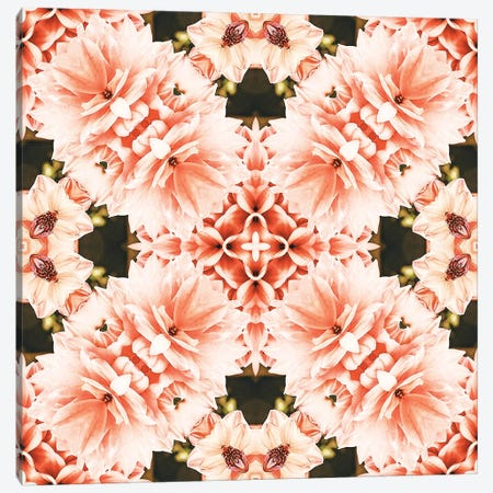 Blush Mandala Canvas Print #UMA699} by 83 Oranges Canvas Artwork
