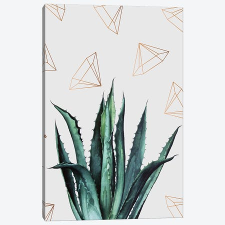 Agave Pattern Canvas Print #UMA6} by 83 Oranges Canvas Art Print
