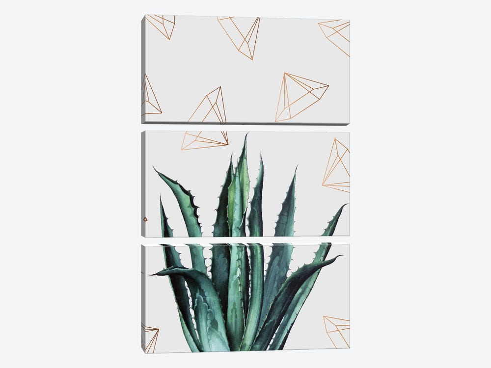 Agave Pattern by 83 Oranges 3-piece Art Print