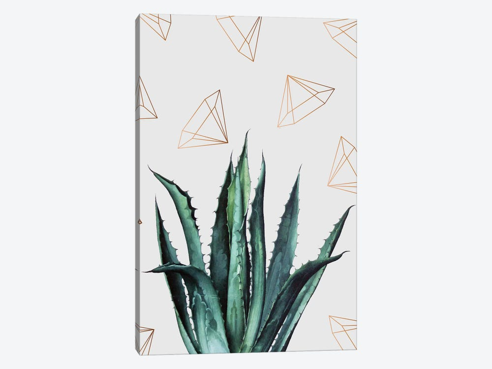 Agave Pattern by 83 Oranges 1-piece Canvas Print