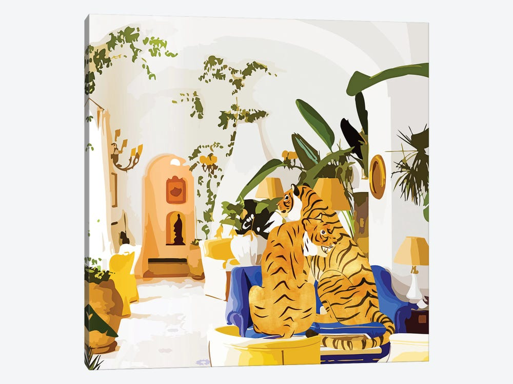 Tiger Reserve by 83 Oranges 1-piece Canvas Print