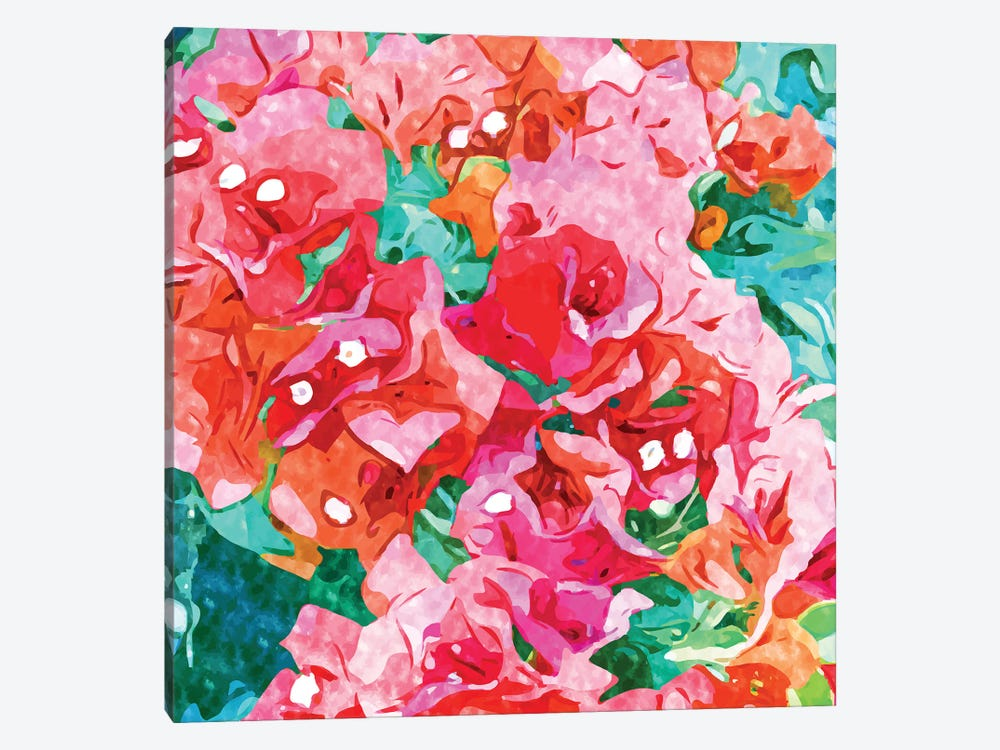 Be Like Bougainvillea, Blooming, Lush, Wild & Unassuming by 83 Oranges 1-piece Canvas Art Print