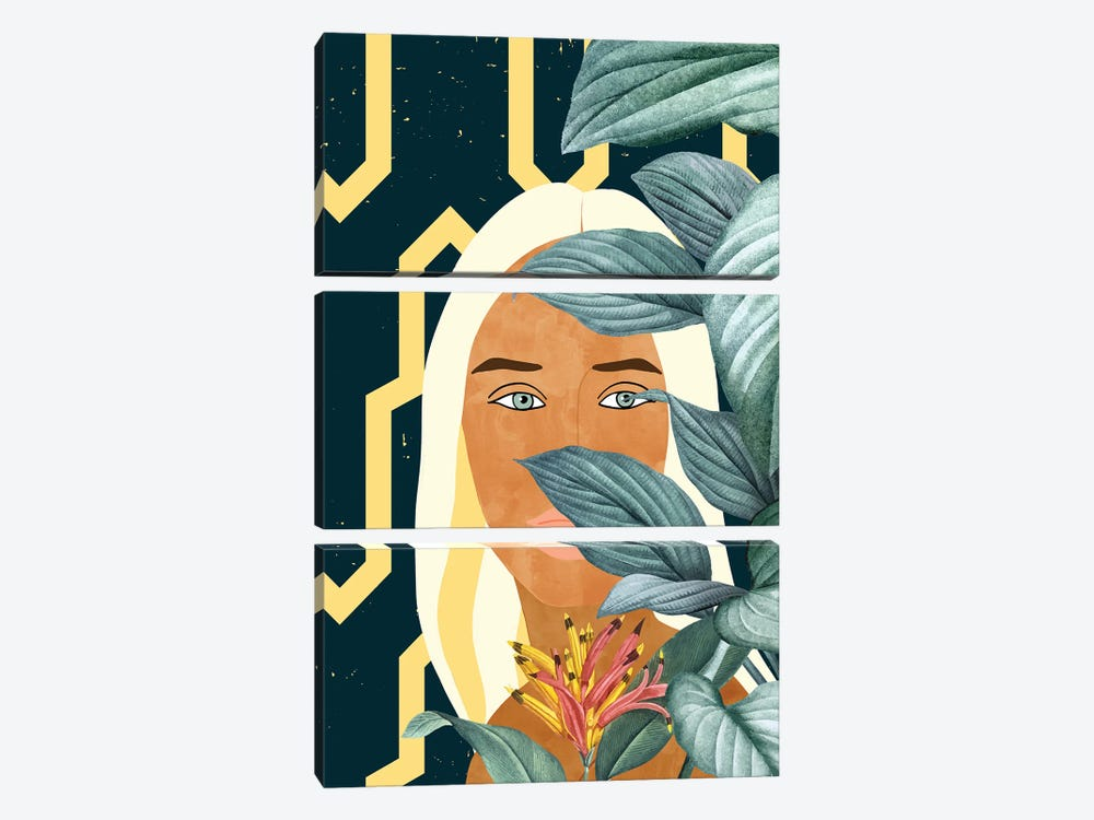 Soul Searches All Of Your Hiding Places, Pining To Bring You Home by 83 Oranges 3-piece Canvas Art Print
