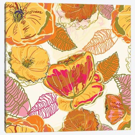Fall Floral Canvas Print #UMA730} by 83 Oranges Canvas Art Print