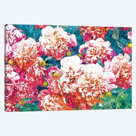 Blossoming Love Canvas Print #UMA731} by 83 Oranges Canvas Art Print