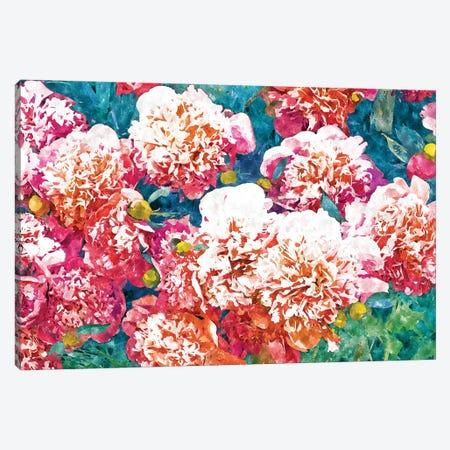 Blossoming Love Canvas Print #UMA731} by 83 Oranges Canvas Art Print