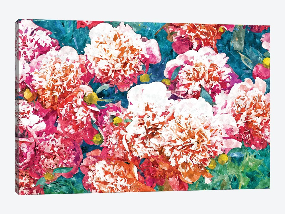 Blossoming Love by 83 Oranges 1-piece Canvas Art Print