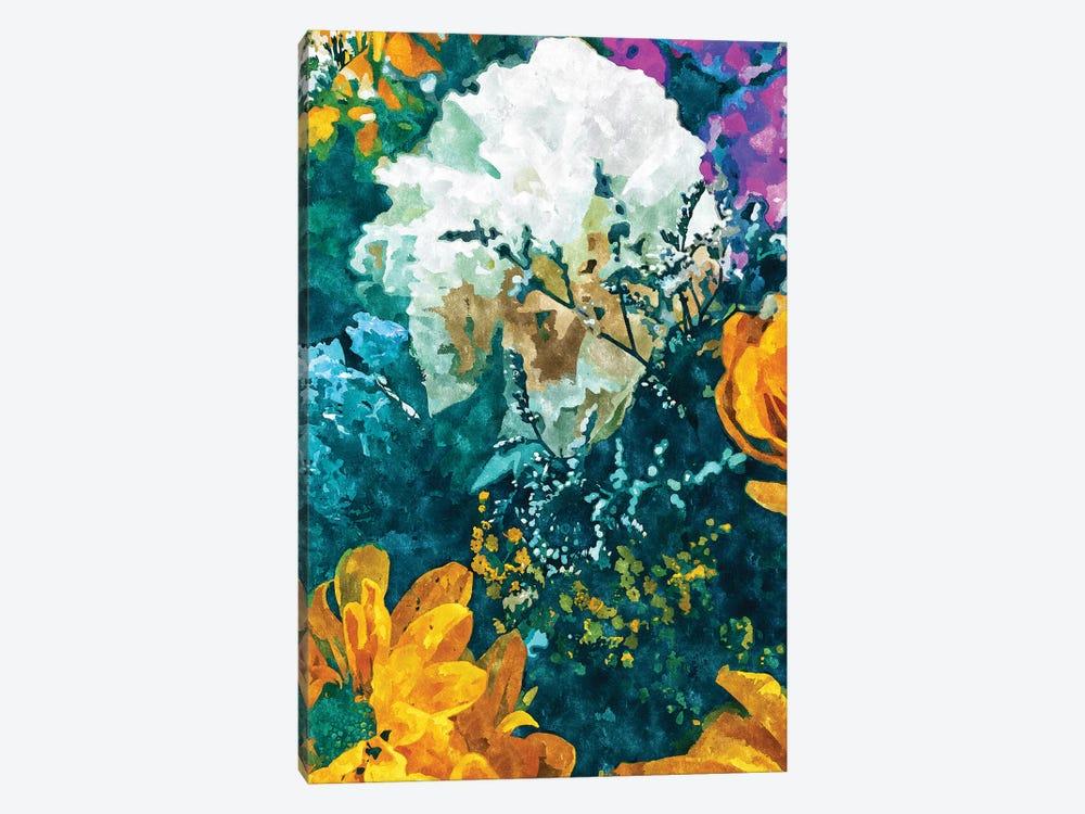 Dark & Floral by 83 Oranges 1-piece Canvas Art Print