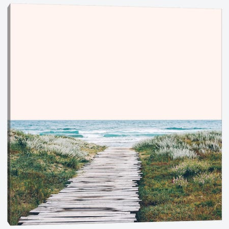 The Ocean Is Calling Canvas Print #UMA73} by 83 Oranges Canvas Art
