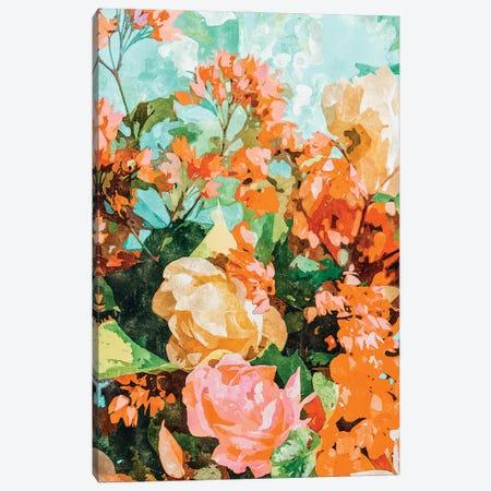 Blush Garden Canvas Print #UMA742} by 83 Oranges Canvas Art